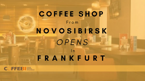 Coffee Shop from Novosibirsk Opens in Frankfurt
