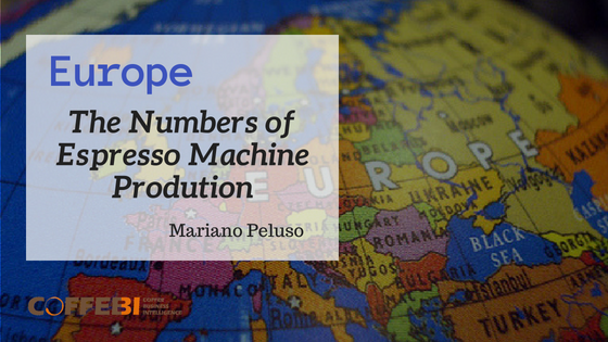 The Numbers of Espresso Machine Prodution