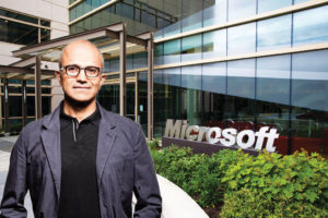 Microsoft Chief Executive Satya Nadella