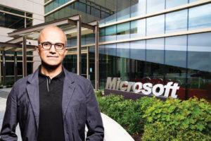 Microsoft Chief Executive Satya Nadella