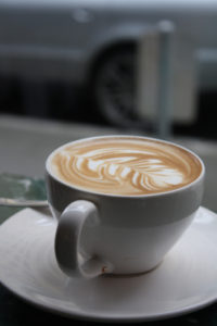 Latte Art in Caffe D'Arte, Seattle