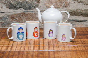 Russian Doll Mugs