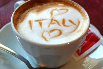 cappuccino love Italy