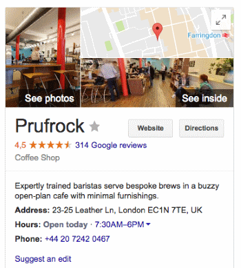 Google For Coffee Business