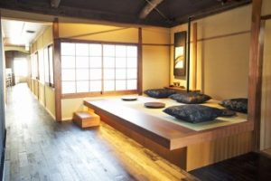 Starbucks Japan Kyoto traditional shop inside