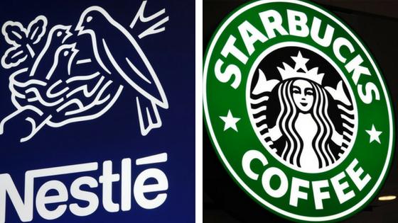 Nestlé Pays Starbucks