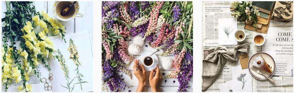 coffee and seasons instagram