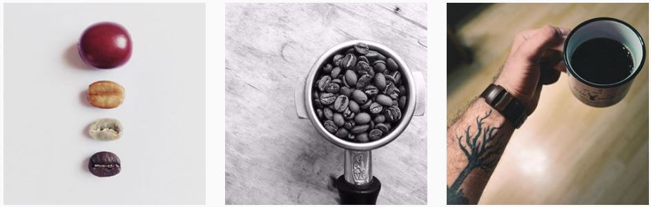 coffee props instagram