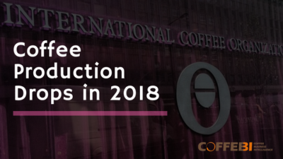Coffee Production Drops in 2018