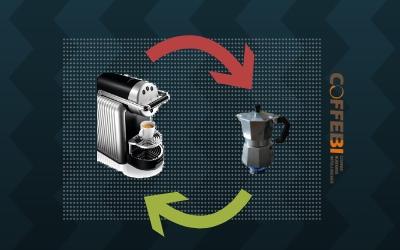 Pod Coffee Markets and Mokas Domestic Use