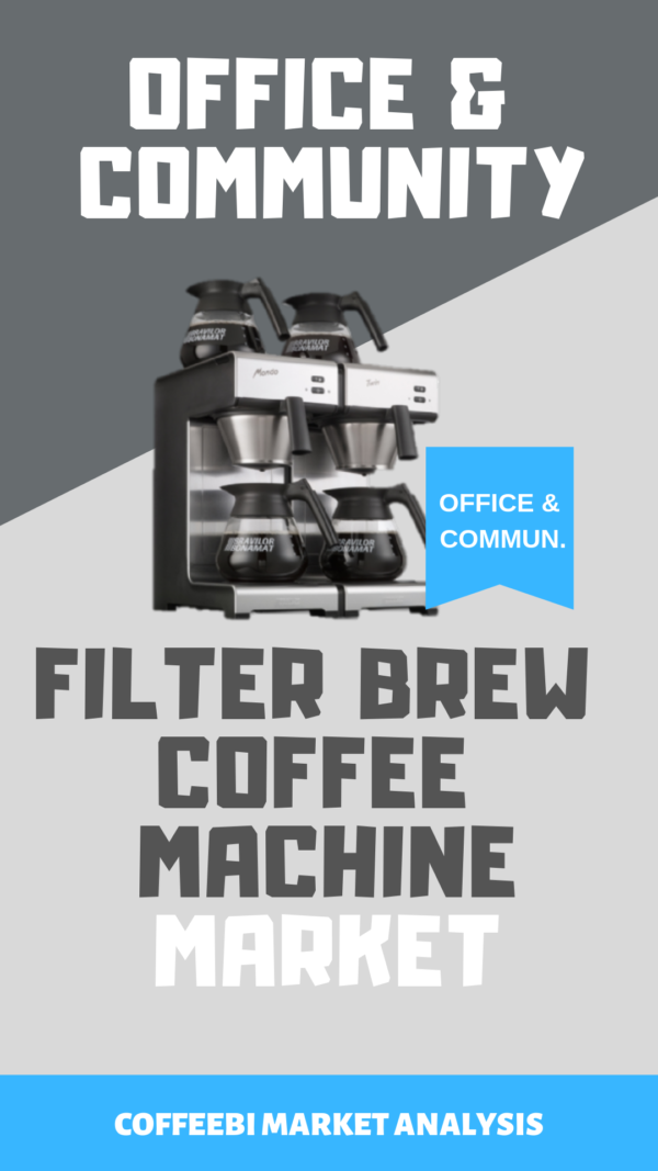 Office-Community-Filtered Brew Coffee Machine Market
