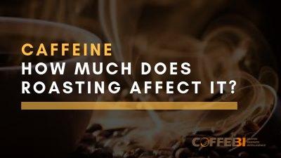 Caffeine levels in coffee