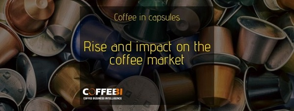 Coffeee in capsules impact