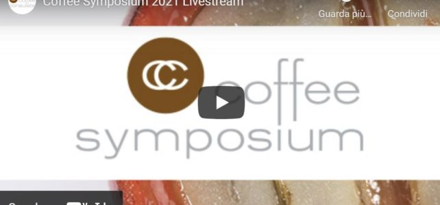 Coffee Symposium 2021   Coffee consumption and the changes caused by the pandemic