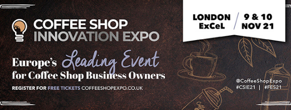 The Coffee Shop Innovation Expo at London's ExCel on Nov. 9th-10th